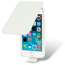 New White Premium Leather Flip Case Cover for New Apple iPhone 5/5S/SE