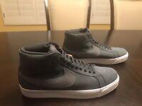 New Nike Blazer Mid 77 Grey Sneaker Shoes Size US 13