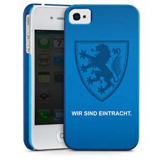 Apple iPhone 4 Premium Case Cover - Wappen blau