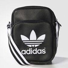 Adidas Originals Adicolor Mini Small Flight Bag - Shoulder Messenger Airline Bag