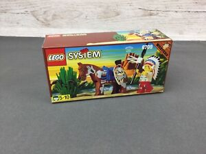 Vintage Lego System Western (1997) ~ Set 6709 ~ Tribal Chief ~ Brand New ~