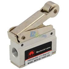 "1/8"" Mechanical Push Button Valve Pneumatic Air Valve US"
