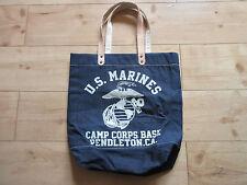 US Army Marines USMC Marine Camp Corps Base Pendleton Denim Sac Lutece MFG WK2