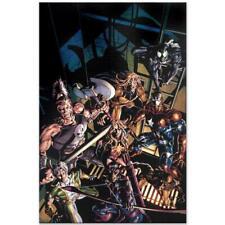 MARVEL Comics Limited Edition Dark Avengers Numbered Canvas Art