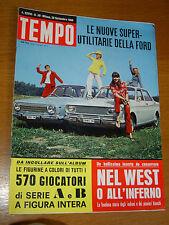 TEMPO 1966/39=TAUNUS 12/15 M=SYLVIE VARTAN=TINA AUMONT=PANIGAGLIA=CARROLL BAKER