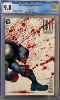 Dark Knight III: Master Race #1 FRANK MILLER  CGC 9.8 Wraparound cover! AWESOME!