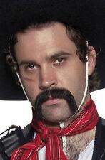 Mexikanischer Bandit Schnurrbart Deluxe NEU - Karneval Fasching Bart Verkleidung