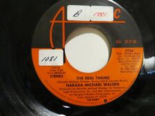 NARADA MICHAEL WALDEN YOU WILL FIND YOU'RE WAY / THE REAL THANG ATLANTIC 3764 NM