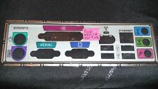 Panneau shield i/o ASUS K8S-LA REV 1.04 plaque arriere