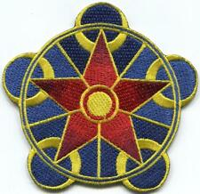 Crop circle ufo alien ET embroidered applique iron-on patch C-6