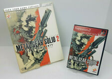 Metal Gear Solid 2: Sons Of Liberty PS2 W/Official Strategy Guide no poster
