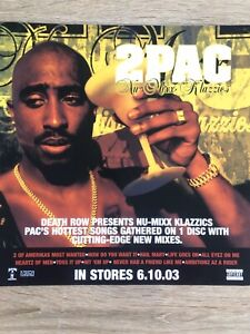 2pac Promo Poster Ultra Rare