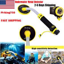Pi-iking-750 Waterproof Metal Detector 30M Underwater Pinpointer Gold Hunter Us