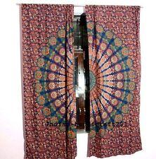 Multi Color Design Valance Room Door Wall Drapes Window Curtain Mandala Tapestry