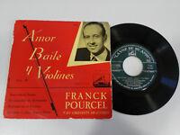 "Franck Pourcel Amor Tanzt Y Violinen Single 7 "" Vinyl Spanisch Ed Die Voz de Su"