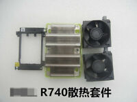 For Dell Server R740 CPU Upgrade Kit with Fan Cooling 0C6R9H 0N5T36