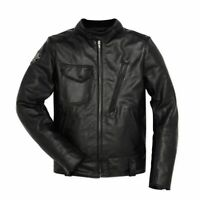 New Dainese Ducati Café Racer Leather Jacket Men's EU 56 Black #981040256