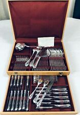 Christofle MARLY  Flatware 73 pcs 12 Pers Table Dinner set perfect + Box