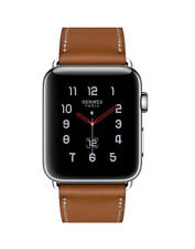 Apple Watch Hermès 38mm Stainless Steel Case with Fauve Barenia Leather