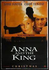 "HUGE Original D/S ANNA & THE KING PRINTER'S TEST PROOF 48"" X 70"" Bus Shelter"
