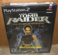 Lara Croft: Tomb Raider The Angel of Darkness PlayStation 2 PS2 Black Label New