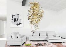 "23.4"" Luxury Chandelier Light Ceiling Suspension Metal Strand Pendant Lamp Hot"