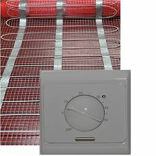 elektrische Fußbodenheizung Elektro Fliesenheizung inclusive Regler TR 85