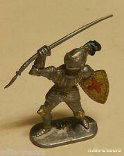 Ancienne Figurine W. GERMANY : CHEVALIER MOYEN AGE à la LANCE - Modèle 4