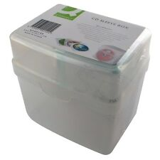 60 CAP CD DVD STORAGE BOX 30 SLEEVES & INDEX INSERTS JEWEL CASE KF00140