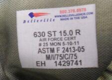 Orig. Belleville US Airforce Boots - foliage - Größe 15.0 R  (dt. Gr. 50 - 51)