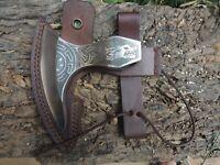 hand forged axe head