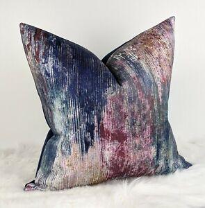 John Lewis & Partners Fresco Cushion Abstract Embroidery Modern Decor Multi