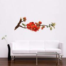 Red Flower Tree Art Wall Sticker Vinyl Decal Home Décor 160 x 60 cm
