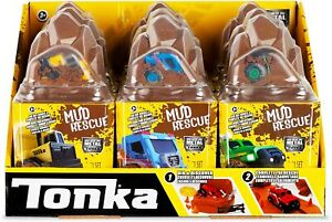 Tonka Metal Movers Mud Rescue Playset-Die Cast Vehicle-Ages 3+ (Assorted)
