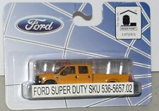 River Point Station RPS Ford F-350 Yellow Crew Cab Truck - New 1/87 HO Scale