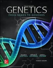 NEW 3 Days 2 US Genetics From Genes to Genomes 5E Leland Hartwell 5th Edition