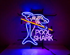 Shark Pool Vintage Game Neon Light Sign Store Bar Pub Room Wall Decor Lamp