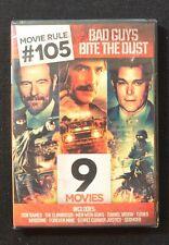 Movie Rule # 105 : Bad Guys Bite The Dust 9 Film Set (DVD)   NEW