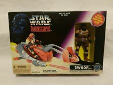 STAR WARS SHADOWS OF THE EMPIRE SWOOP BOXED VEHICLE & FIGURE SOTE MINT IN BOX