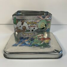 More details for pokémon trading card game -  2003 holiday tin  (empty tin)