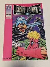 Deathmate Preview 1993 Valiant Comics