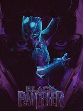 Black Panther Poster Movie Art Print (18x24)
