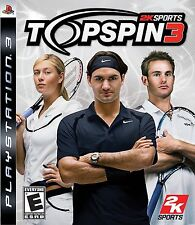 Top Spin 3 PS3 - LN - Game Disc Only