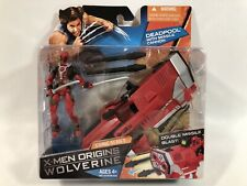 "MARVEL UNIVERSE X-MEN ORIGINS WOLVERINE DEADPOOL MISSLE CANNON 3 3/4"" FIGURE SET"