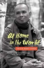 AT HOME IN THE WORLD - NHAT HANH, THICH/ DEANTONIS, JASON (ILT) - NEW HARDCOVER