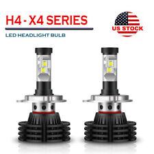 X4 Series H4 LED Headlight Conversion Kit Bulb 1850W 270000LM High Power 6000K
