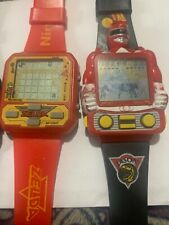 Red Legend Of Zelda & Power Rangers Mint Working Nintendo Nelsonic game Watch