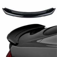 Gloss Black GT350 Style Track Pack Trunk Spoiler Lip Wing for 15-17 Ford Mustang