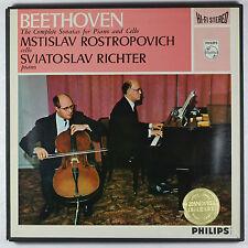 Beethoven,5 Cello Sonatas / Mstislav Rostropovich & Sviatoslav Richter / Listen!
