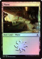 Plains (257/269) - Amonkhet - Foil - Magic the Gathering MTG Basic Land